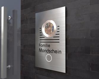 Türsprechanlage mit 7 Zoll Touchscreen Monitor